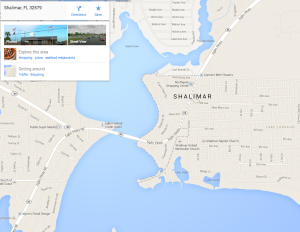 Shalimar Florida Attorney Map Service Area